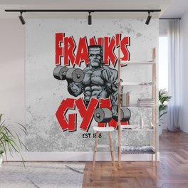 Frank's Gym Wall Mural