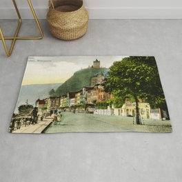 1900 Cochem Mosel Moselle Rug
