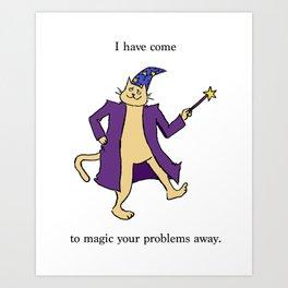Magic Cat Art Print