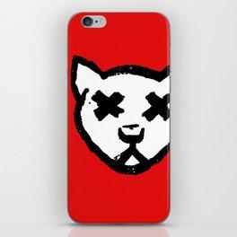 Dead Cat Icon iPhone Skin