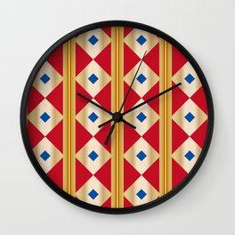 Traditional Japanese patter KUGINUKITSUNAGI Wall Clock