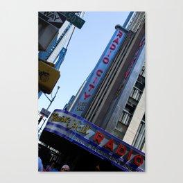 New York City Radio City Music Hall Canvas Print