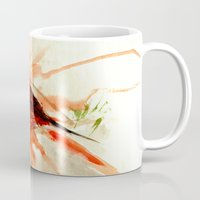 cardinal Mugs featuring Cardinal by Leanne Engel