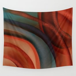 Southwestern Sunset 3 contemporary abstract  Wall Tapestry