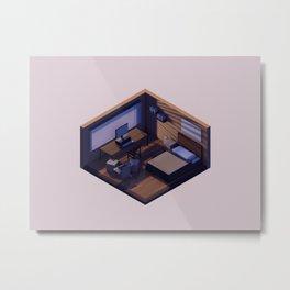Student Room Metal Print