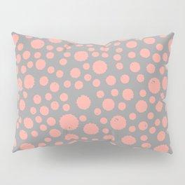 Peach Splat Pillow Sham