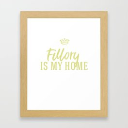 Fillory is my Home Framed Art Print