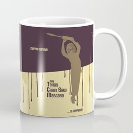 Can You Survive The Texas Chain Saw Mascara Coffee Mug