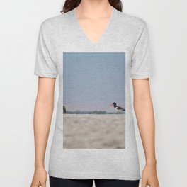 Oyster Catchers Unisex V-Neck
