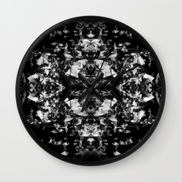 kaleidoscope3 Wall Clock