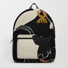 Black Hair No. 6 Backpack