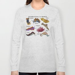 Nudibranchs of the World Long Sleeve T-shirt
