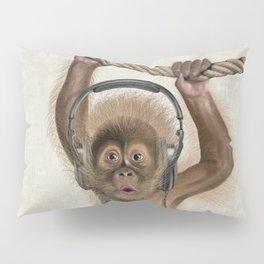 Baby monkey Pillow Sham