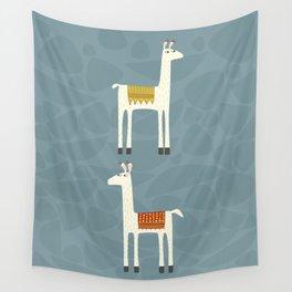 Everyone lloves a llama Wall Tapestry