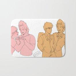A bunch of bakushima/kiribaku sketches Bath Mat