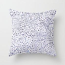 dot landscape Throw Pillow
