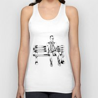 forrest gump Tank Tops featuring Forrest Gump by Christine S.