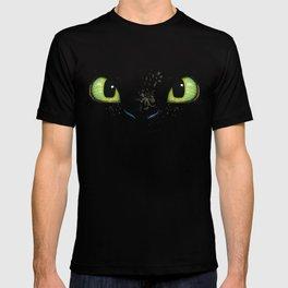 HTTYD Toothless Fiery Eyes T-shirt