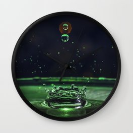 Magic Bubbles Wall Clock
