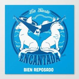 La Siesta Encantada, Bien Reposado • The Best Tequila TShirt! Canvas Print