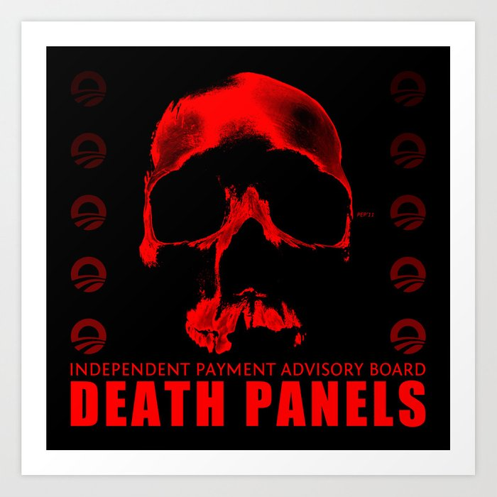 Death Panels Art Print