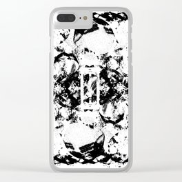 Entropy (Inverse) Clear iPhone Case