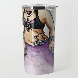 Jessie Purple Belly Dancer Travel Mug