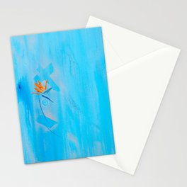 Silver Linings For Birds Of Paradise Stationery Cards