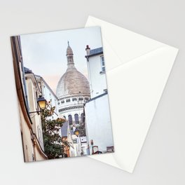 I love Montmartre, Paris. Stationery Cards