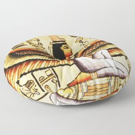 Egypt Isis Cleopatra Floor Pillow