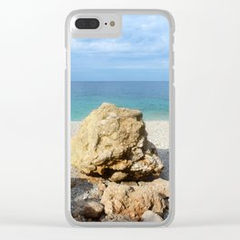 SICILIAN SEA SOUND Clear iPhone Case