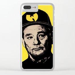 Wu Murray Clear iPhone Case