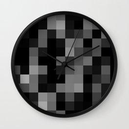 NOT A CIRCLE Wall Clock