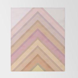 Pastel Peaks Throw Blanket