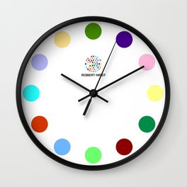 Robert Hirst Spot Clock 1 Wall Clock