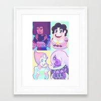 enerjax Framed Art Prints featuring Sweater Gems by enerjax