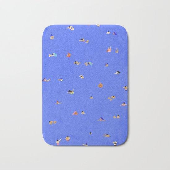 Electric blue Bath Mat