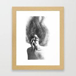 Masks by Iris Compiet Framed Art Print