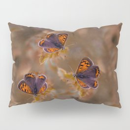 Small Copper butterfly Pillow Sham