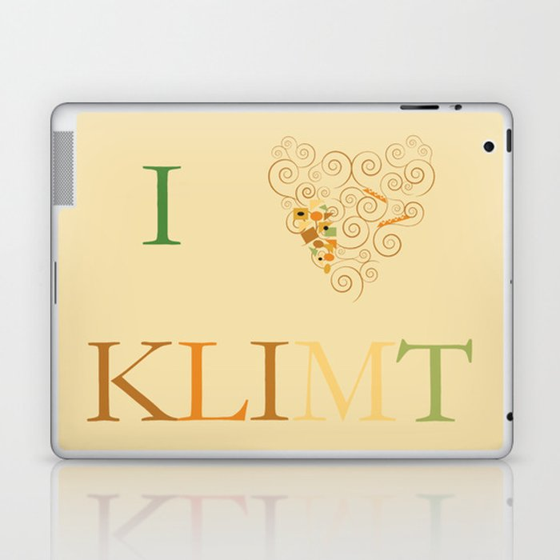 I heart Klimt Laptop & iPad Skin