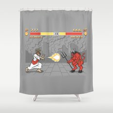 The Final Battle Shower Curtain