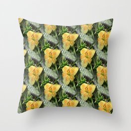 Lily Time... Throw Pillow
