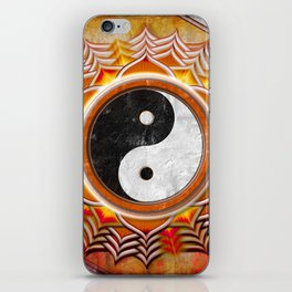 Yin Yang - Healing Of The Orange Chakra iPhone Skin