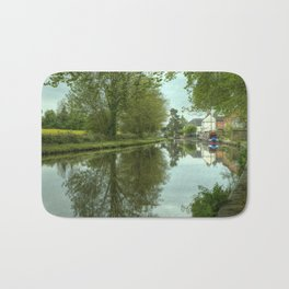 The Canal at Stoke Prior Bath Mat