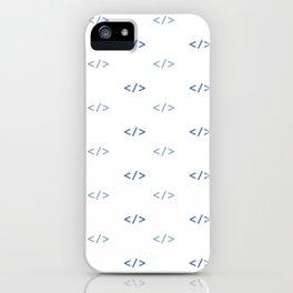 BRACKET'S SEEKER iPhone Case