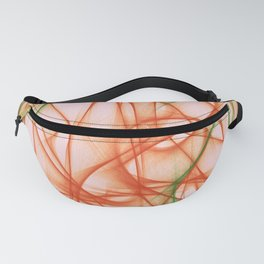 Orange Abstract Fanny Pack