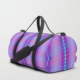 Heavy light pattern edge Duffle Bag