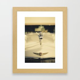 Old Caddy Framed Art Print