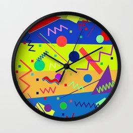 Memphis #59 Wall Clock