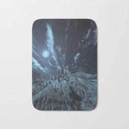 Blue Madness Bath Mat